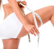 Schlanke Oberschenkel durch Gewichtsreduzierung
